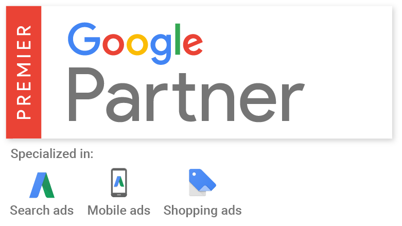 google premier partner agency impression