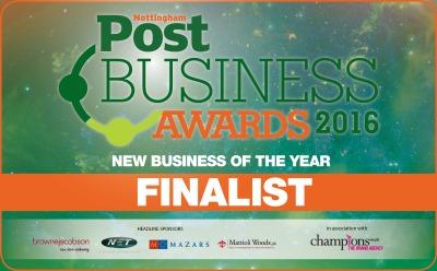 Nottingham Post Business Awards 2016 New Business