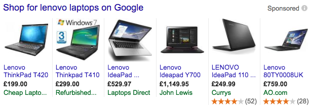 lenovo laptops google shopping plas