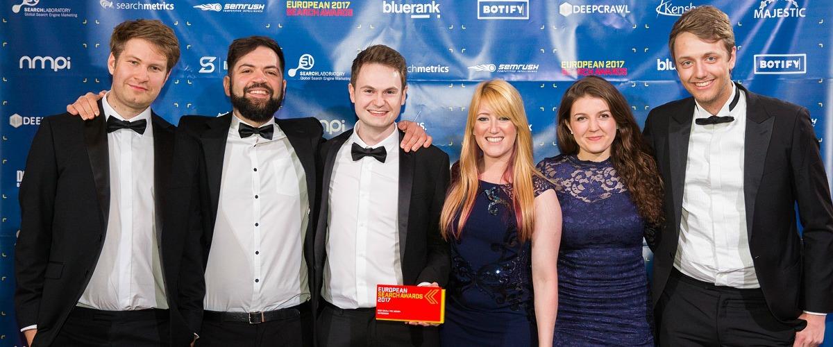european search awards winners