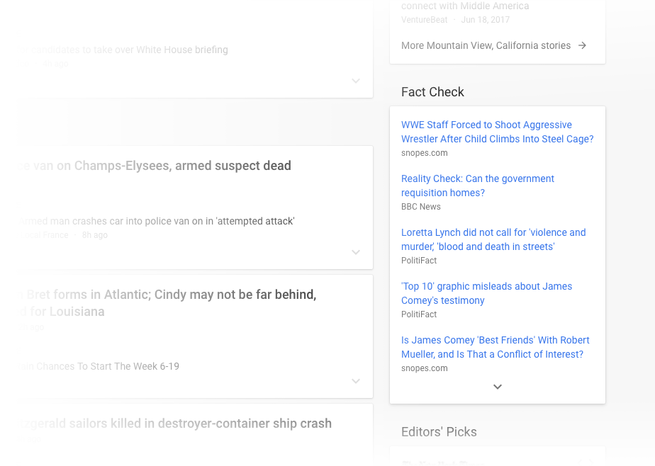 Google News Overhaul to Combat Fake News | Impression