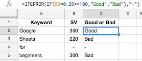 Top 12 Google Sheet Formulas for SEO Beginners   Impression