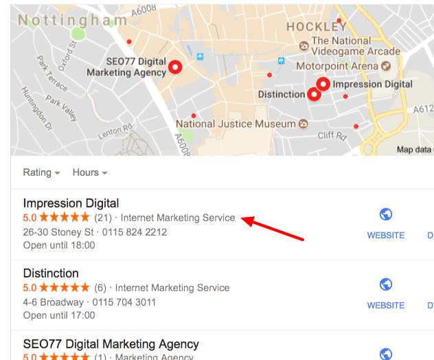 digital marketing agency nottingham Google Search