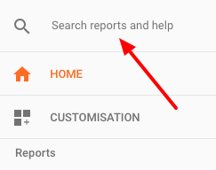 GA Report Search