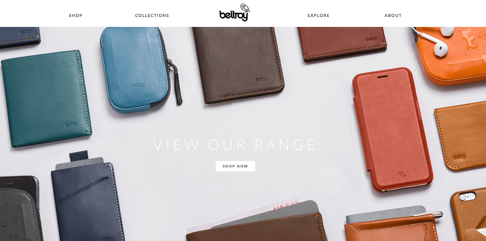 Bellroy on site photography impression