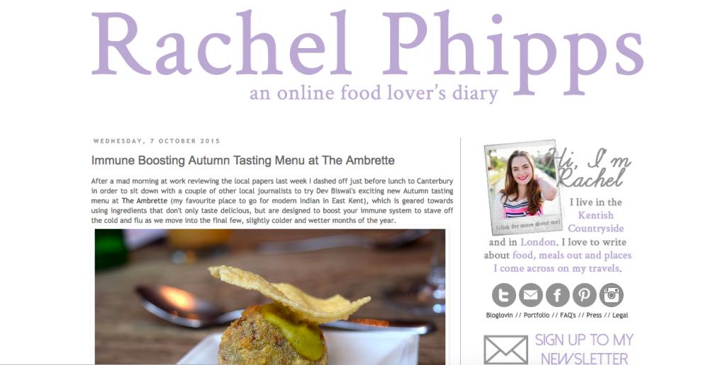 review restaurant digital marketing