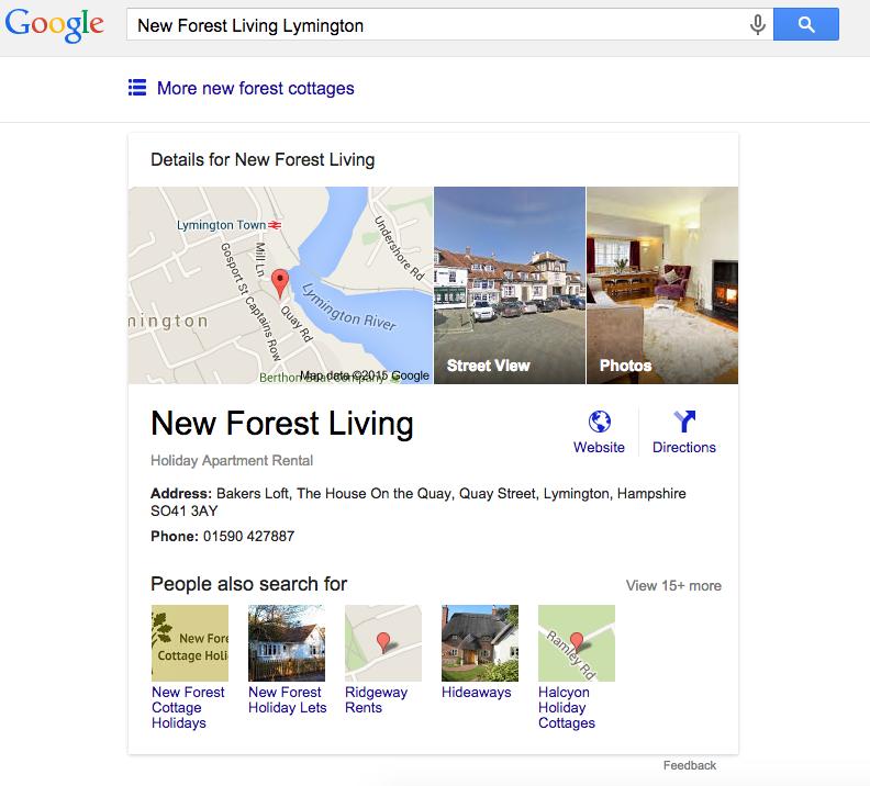 google travel format