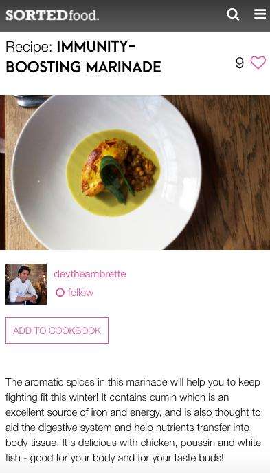 recipe restaurant digital marketing