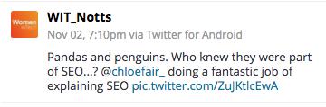 women in tech chloe fair tweets
