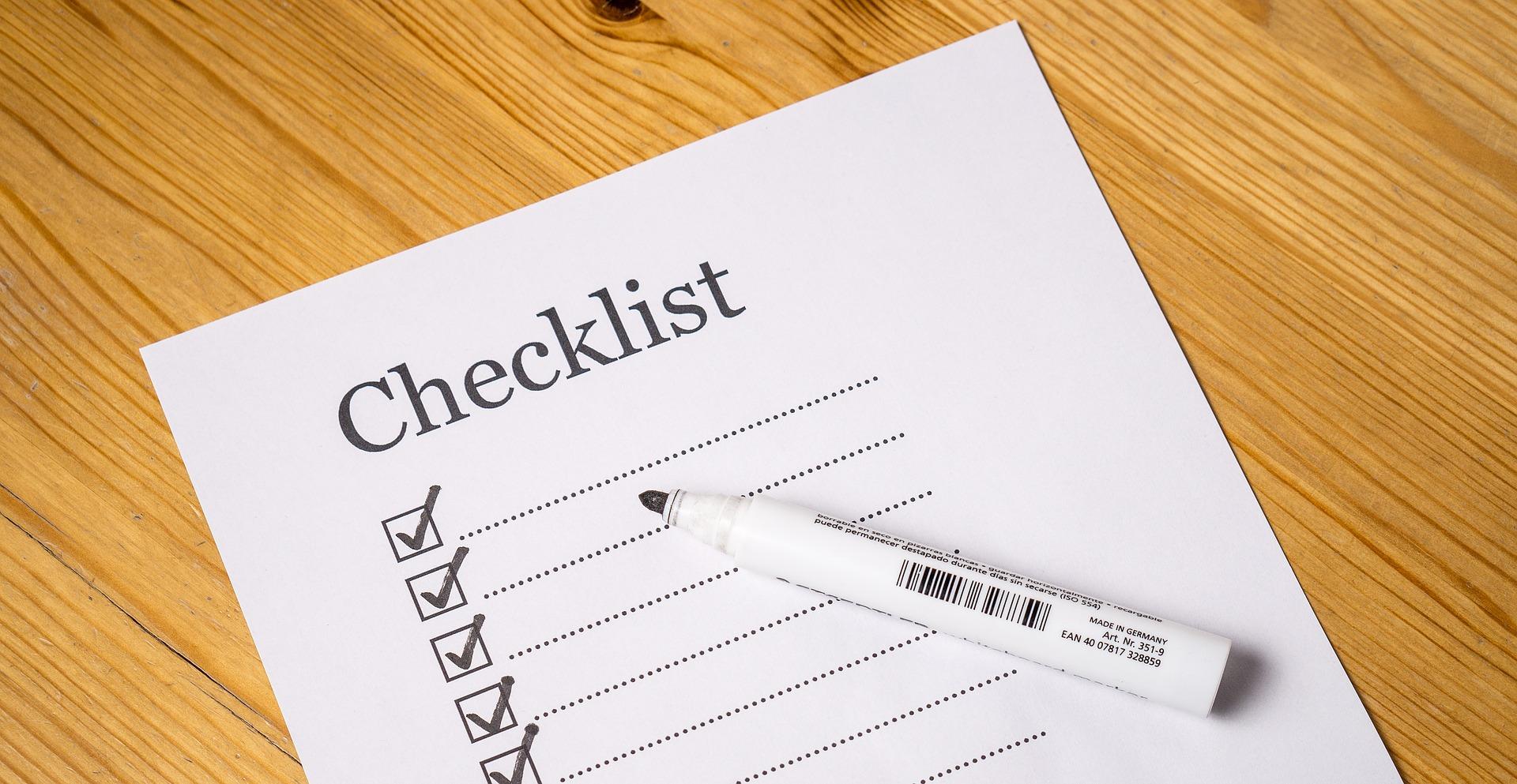 digital pr checklist