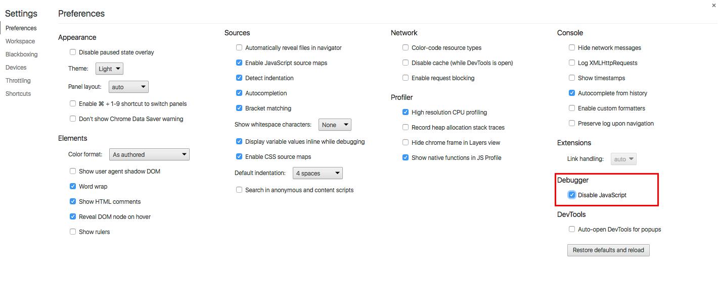 A screenshot of Google Chrome's Element Panel