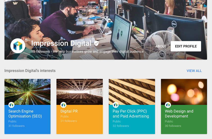 entity processing google plus