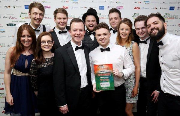 impression win nottingham award