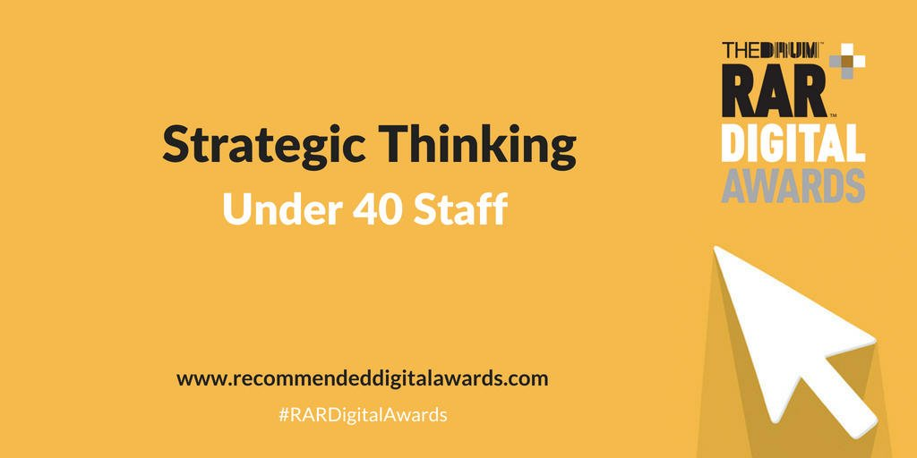 rar awards strategic thinking impression