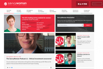 savvy woman homepage