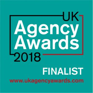 UK Agency Awards 2018 Finalist Badge