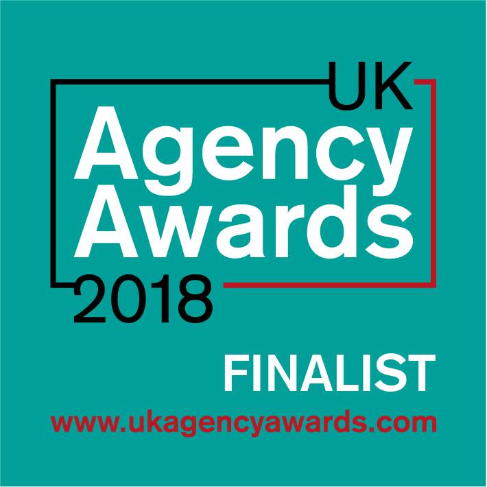 UK Agency Awards 2018 Finalist Badge