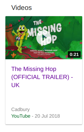 Freddo missing hop video card