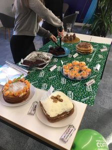 Macmillan Cancer Support Bake Sale 2019 | Impression