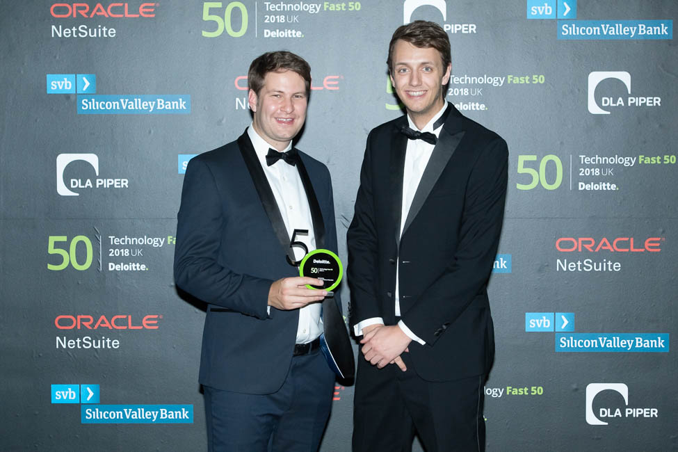 Deloitte UK Technology Fast 50 Awards Impression