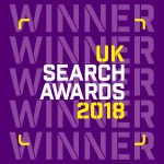 uk search awards winner impression