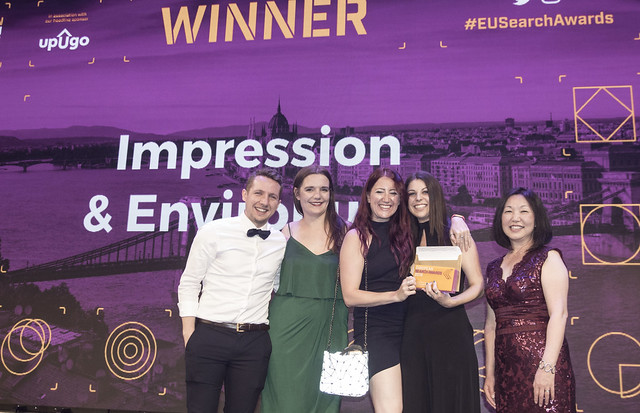 impression best use pr seo european search awards