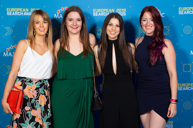 impression european search awards 2019 team