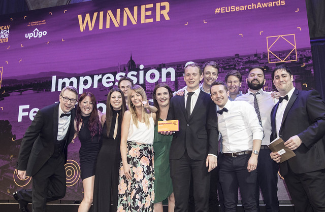 impression european search awards winner seo