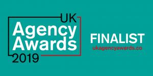 UK Agency Awards 2019 Finalist Twitter Card