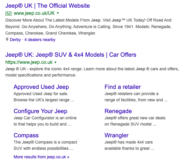 Simply adding a registered trademark symbol to your ad copy or titles can improve CTR hugely.