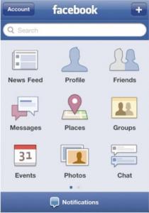 Facebook app 2010