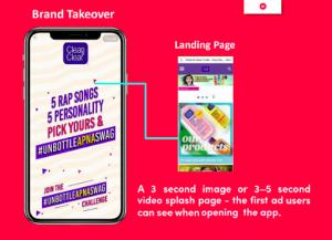 TikTok brand takeover ads