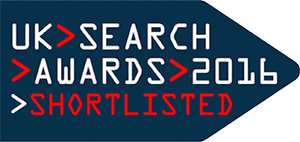 UK Search Awards Shortlisted 2016